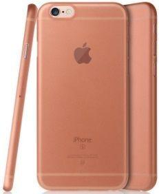 Чехол Baseus Slender Series For iPhone 6 Plus / 6S Plus Pink
