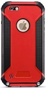 Водонепроницаемый и ударопрочный чехол Bolish C5501 for iPhone 6 Plus / 6S Plus Red
