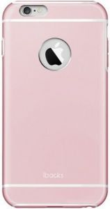 Металлический чехол iBacks Armour Case for iPhone 6 Plus / 6S Plus Rose Gold