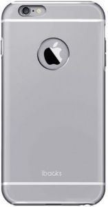 Металлический чехол iBacks Armour Case for iPhone 6 Plus / 6S Plus Space Gray