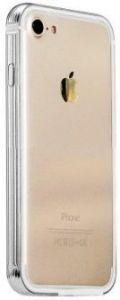 Металлический бампер COTEetCI Aluminum + TPA for iPhone 7/8 Silver ( CS7001-TS)