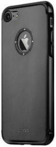 Металлический чехол iBacks Aluminum Case with Diamond Ring for iPhone 7/8 Black