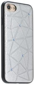Чехол COTEetCI Star Diamond Case iPhone 7/8 Silver (CS7032-TS)