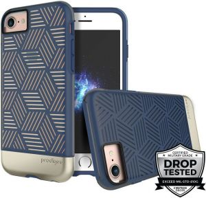 Чехол Prodigee Stencil For iPhone 7/8 Navy Blue/Gold
