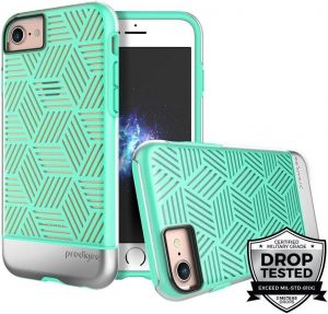 Чехол Prodigee Stencil For iPhone 7/8 Teal/Silver