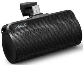 Внешний аккумулятор для устройств с портом microUSB iWalk Link Me Plus Docking battery 3300mAh Micro USB version black (DBL3300M)