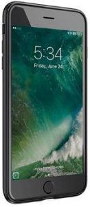 Стеклянный чехол SwitchEasy Glass X for iPhone 7 Plus / 8 Plus Black (GS-55-262-20)