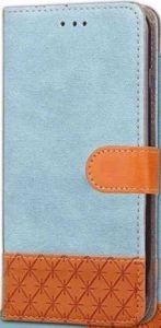 Чехол-книжка Diary c TPU креплением и функцией подставки для Samsung Galaxy S9 Голубой