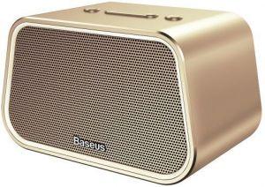 Портативная колонка Baseus Encok Multi-functional wireless speaker E02 Aluminum alloy Gold (NGE02-0V)